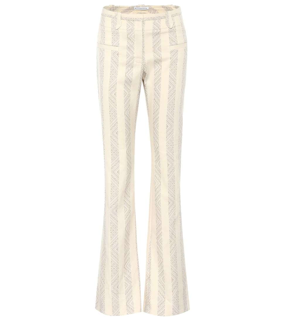 Serge cotton-blend trousers Altuzarra NnfXK