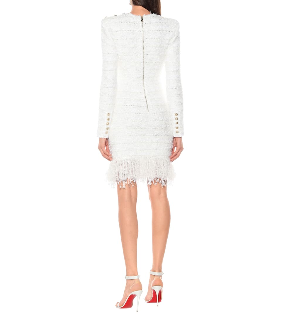 Tweed Minidress - Balmain