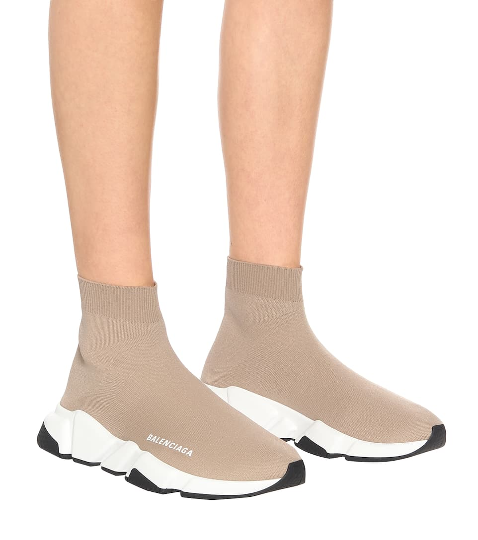 Purchase \u003e beige balenciaga sock