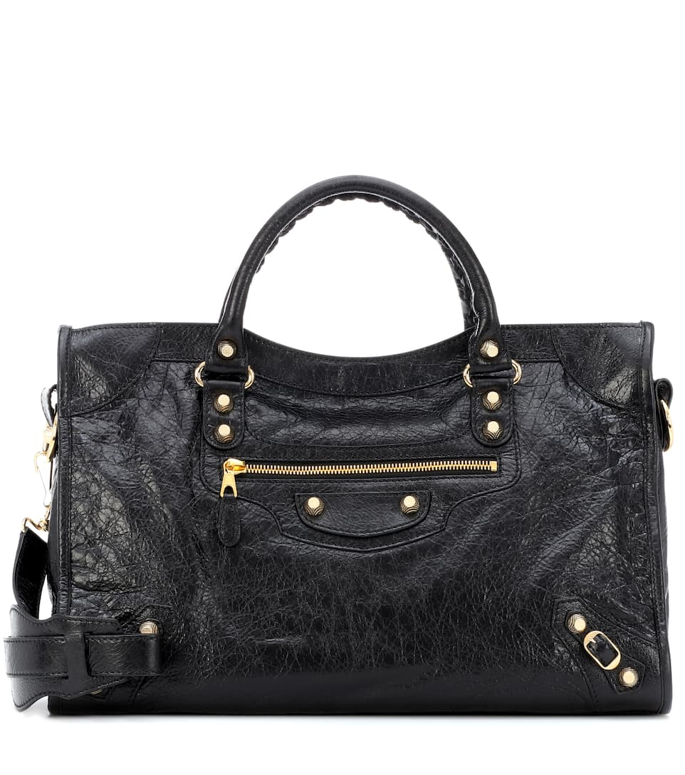 Sac En Cuir Giant 12 City - Balenciaga