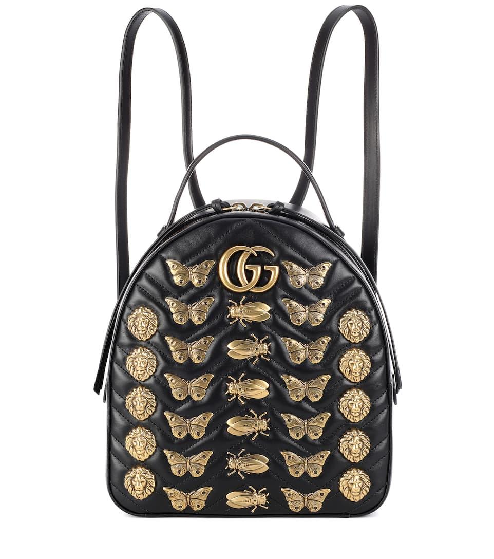 Sac À Dos En Cuir Matelassé Gg Marmont - Gucci Sortie 100% Garanti mQtXJRp