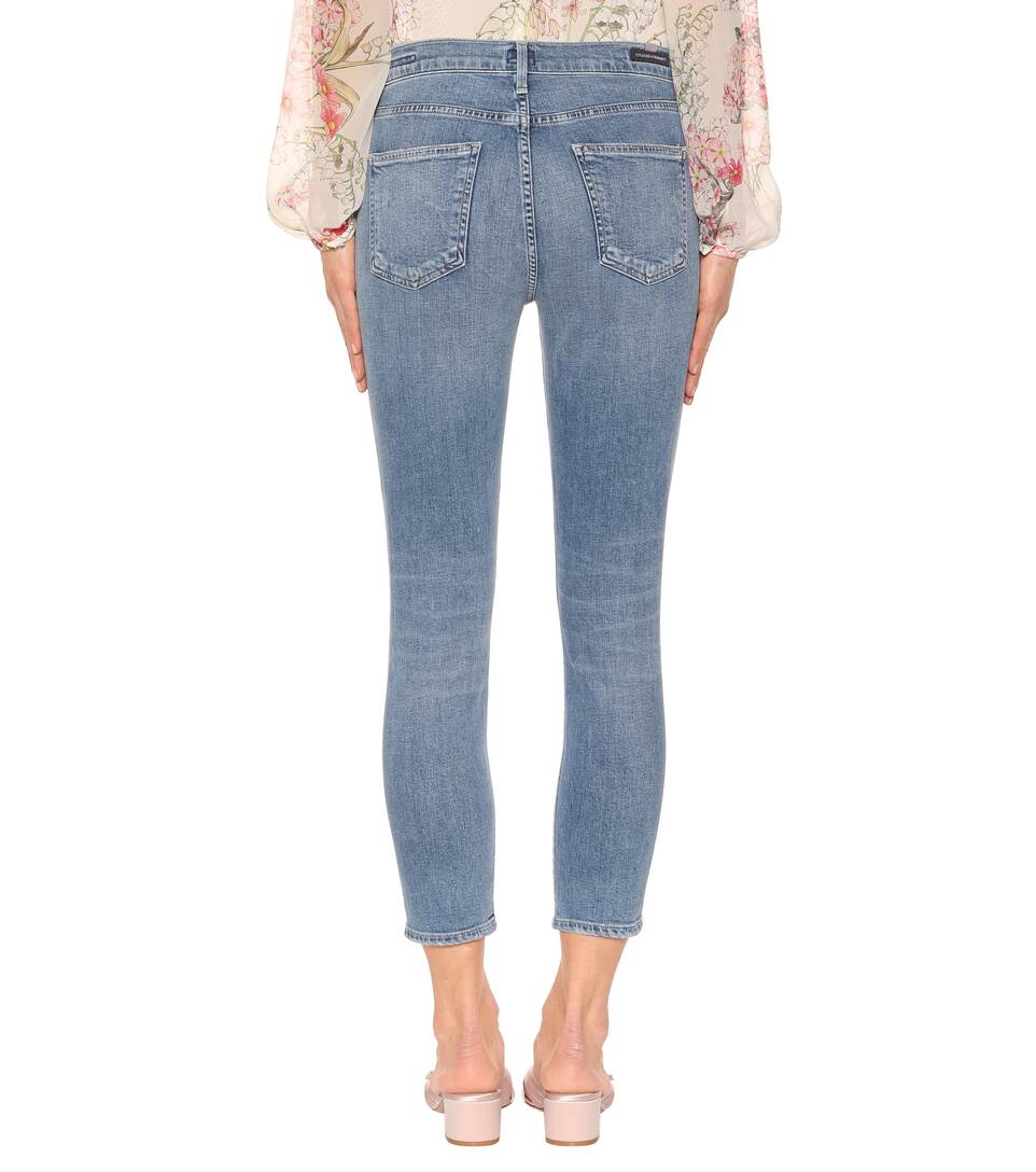 Citizens of Humanity Cropped Jeans Rocket