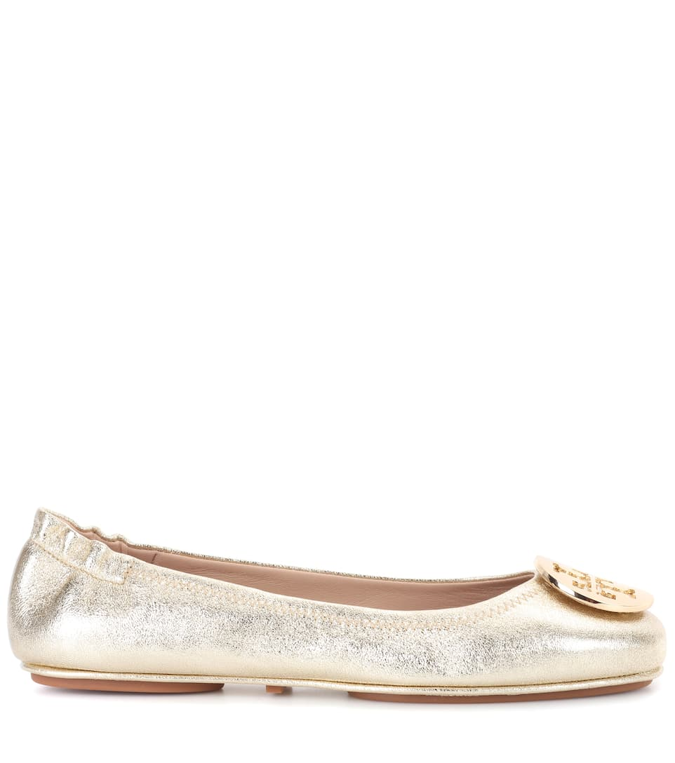Tory Burch Ballerinas Minnie Of Leather