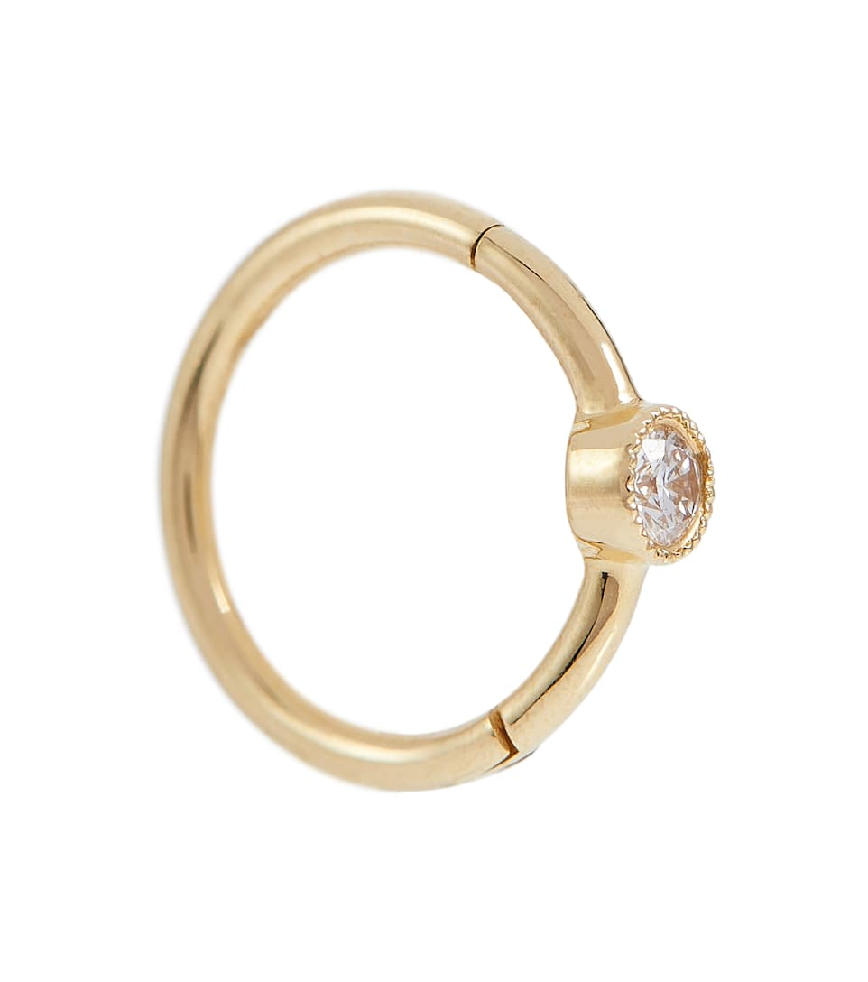 Artnbsp;p00304570 N° Boucle Or Mytheresa D'oreille Unique 18 Et Ct DiamantMaria En Tash 4RAj5L
