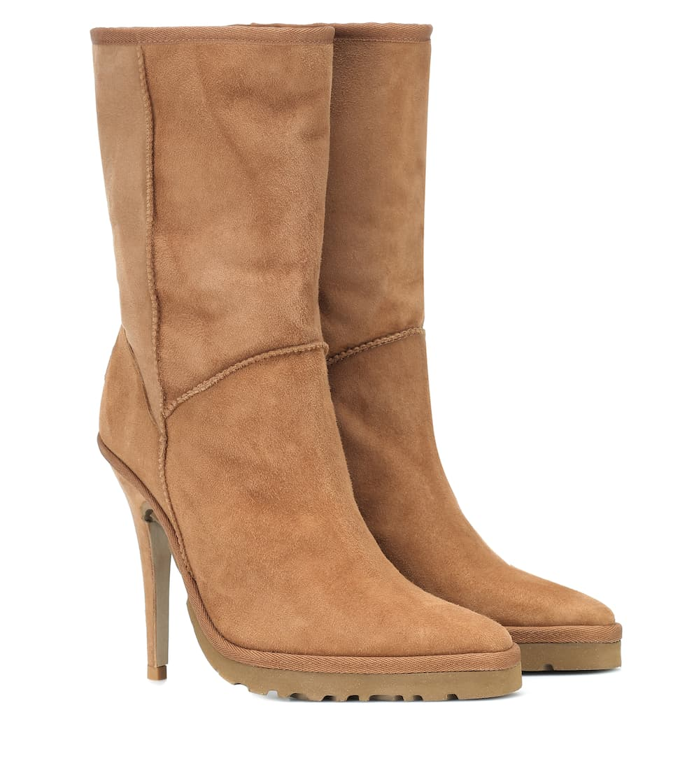 X Ugg Ls1 Suede Ankle Boots by Y/Project