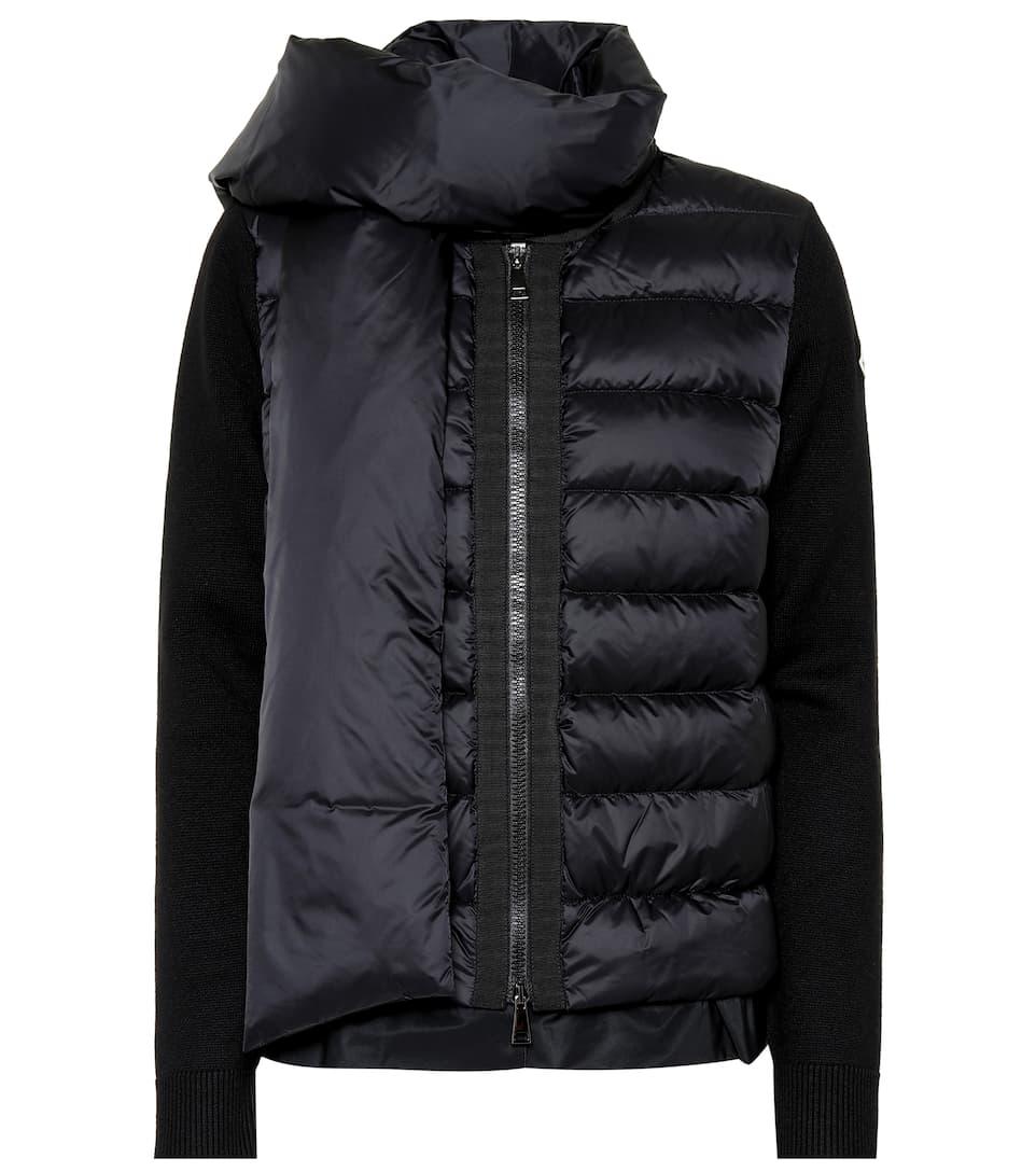 960c18b1d59a Scarf Down Jacket - Moncler