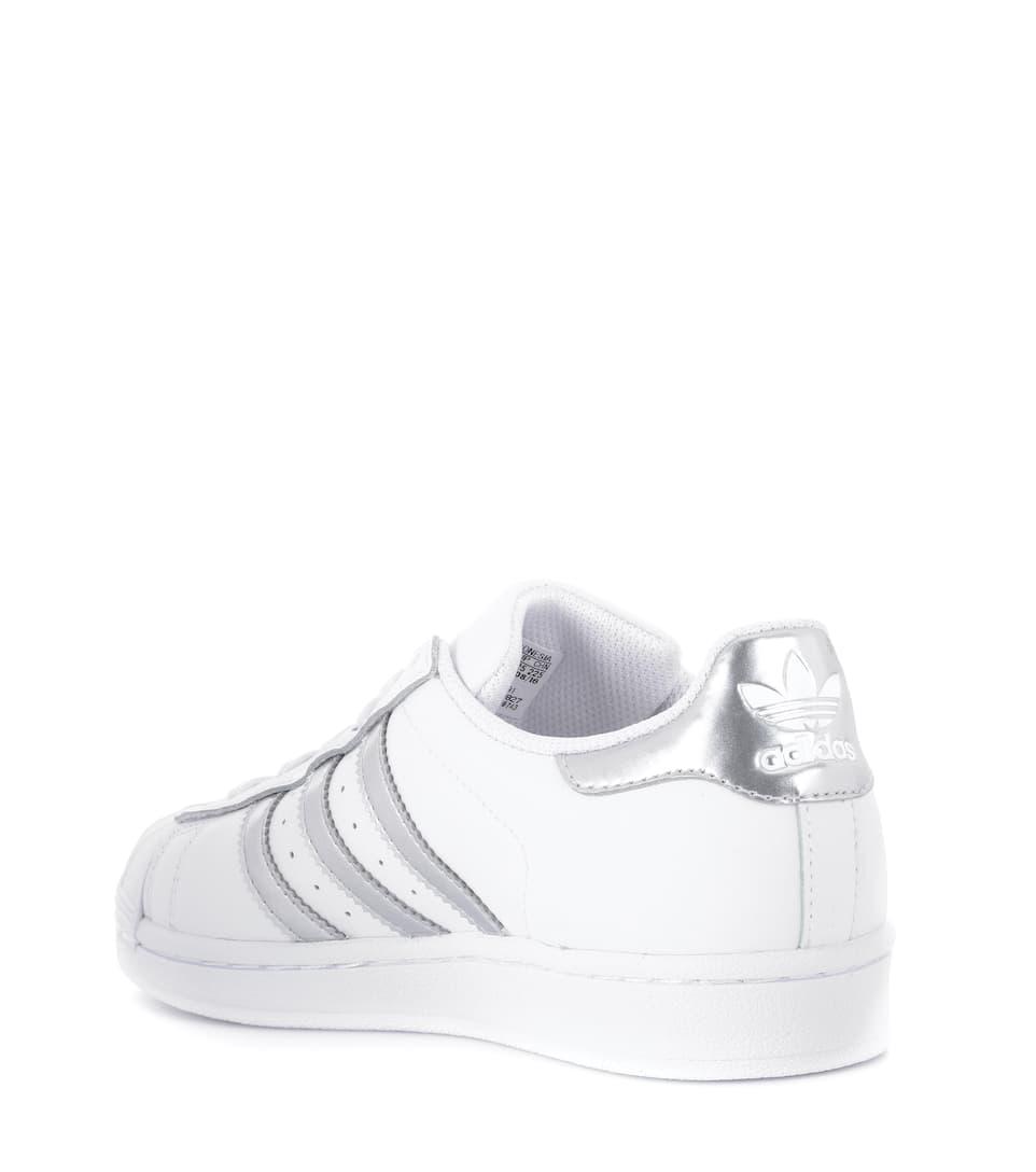 Adidas Originals Sneakers Superstar Foundation aus Leder
