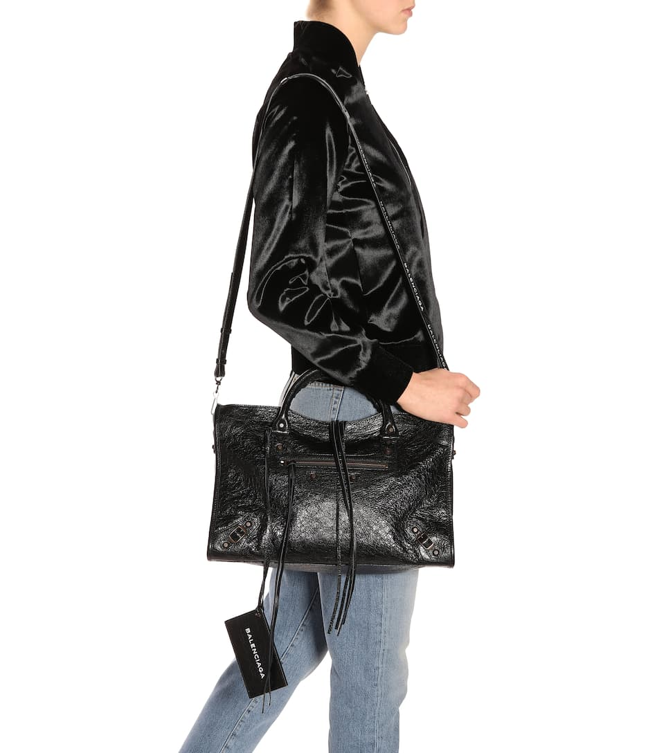Classic City Medium leather shoulder bag Balenciaga 7yuwOxZ