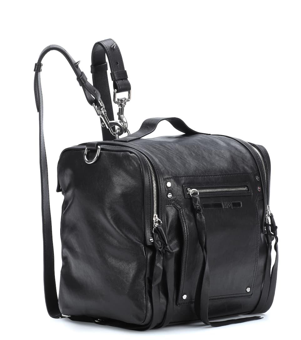 McQ Alexander McQueen Wandelbare Tasche Loveless aus Leder