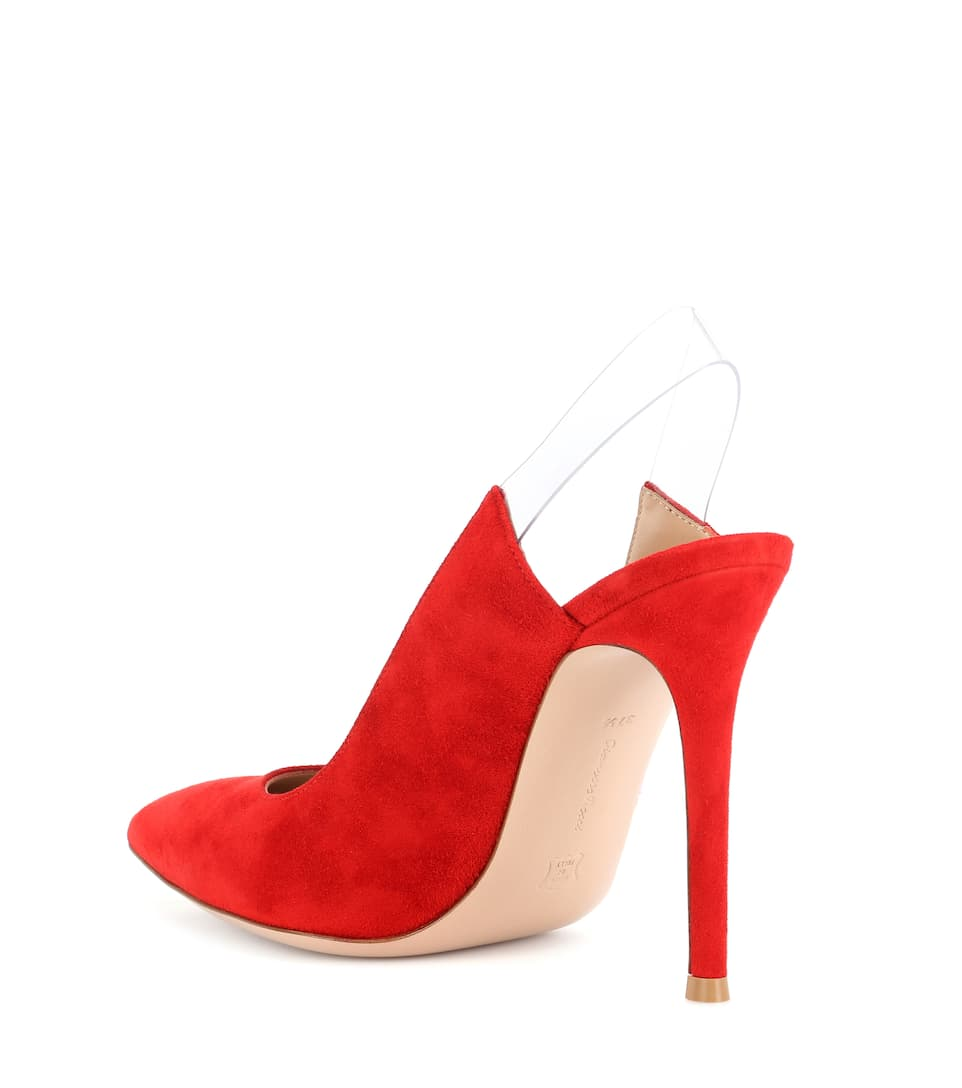 Gianvito Rossi Slingback Pumps-out Suede