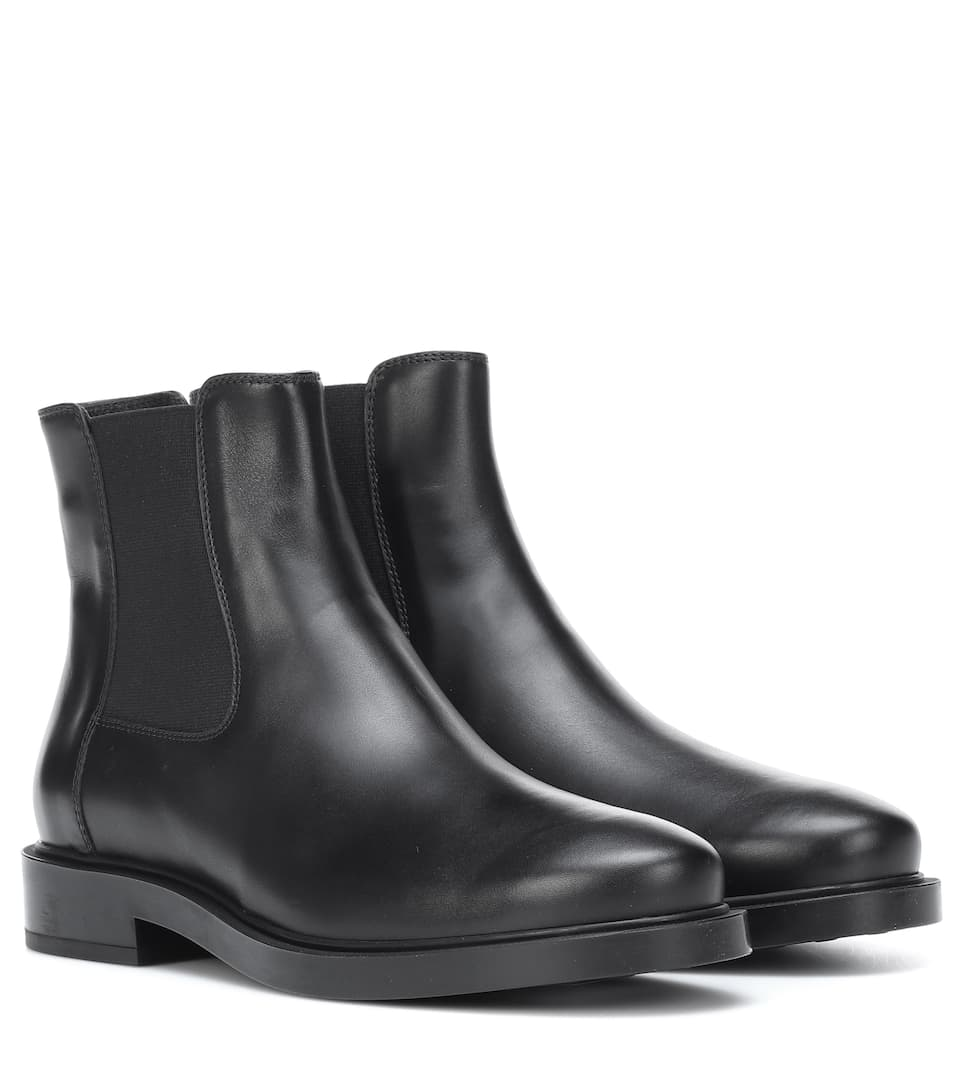 Chesea Boots Aus Leder by Tod's