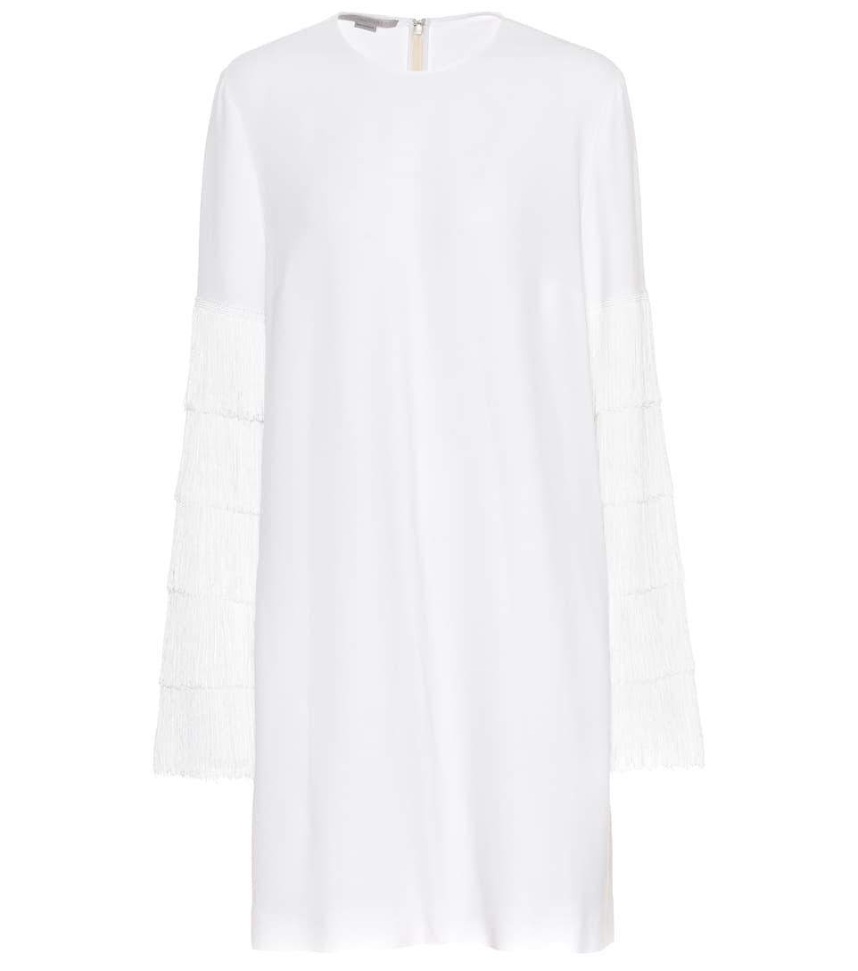Stella Mccartney Mini Dress With Fringe