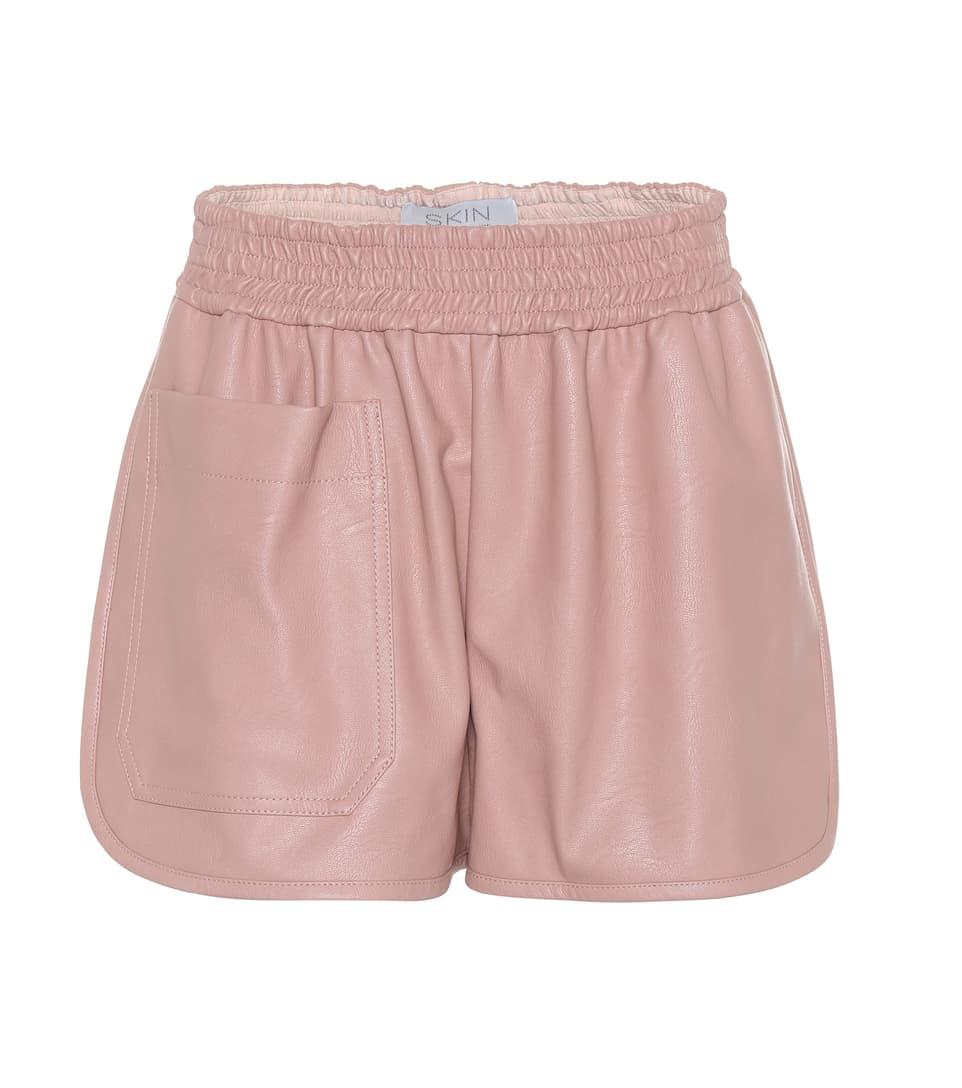 Stella McCartney Shorts aus Lederimitat