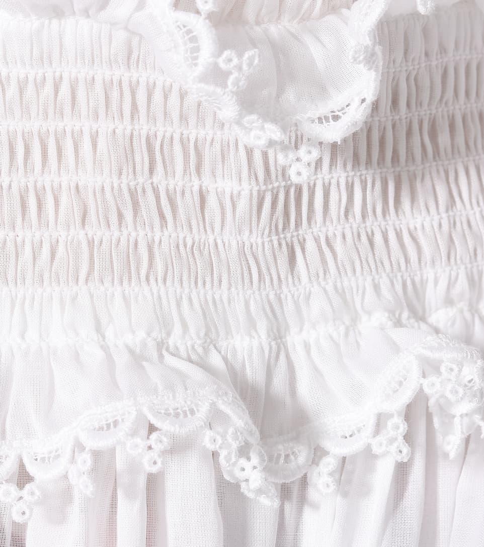 Dolce & Gabbana Off-Shoulder-Bluse aus Baumwolle