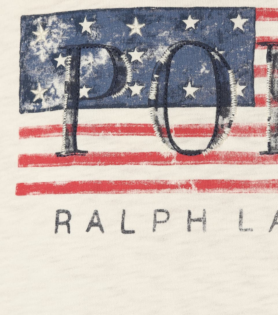 Authentic Clearance 2018 Polo Ralph Lauren Printed cotton T-shirt White Websites Genuine Online Wide Range Of Ilz2O