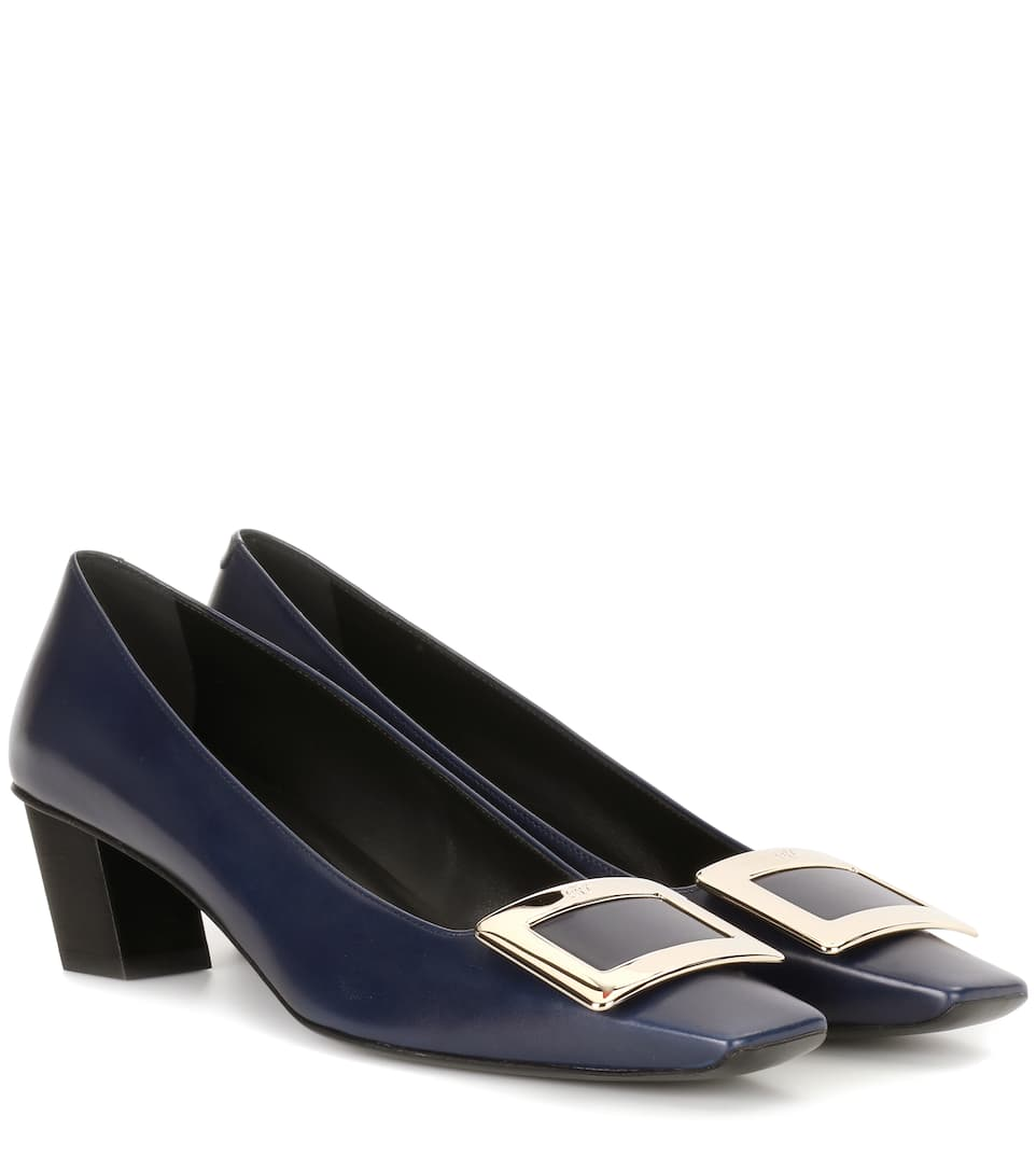 Pelle Roger Vivier Pumps Belle In 6gybfY7v
