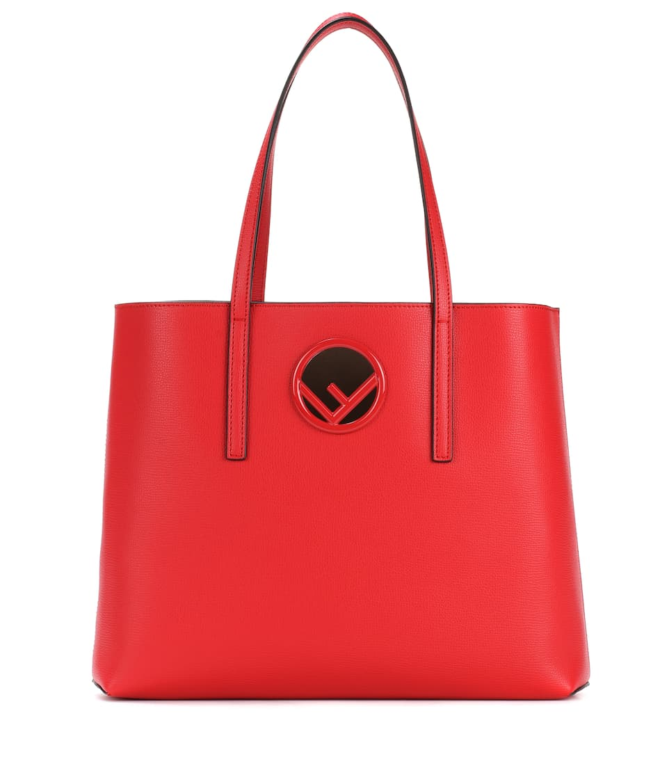 Fendi Shopper aus Leder