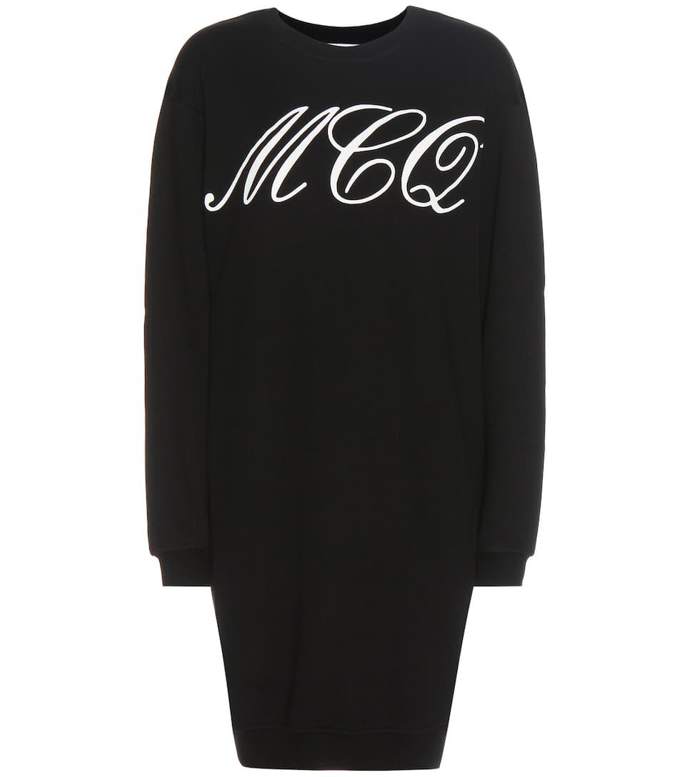 McQ Alexander McQueen Cotton sweater dress