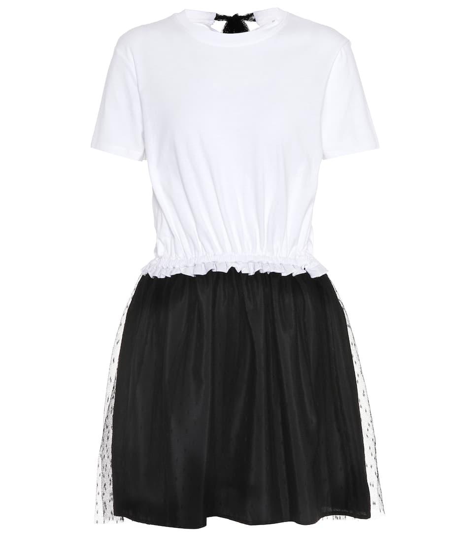 REDValentino Kleid aus Baumwoll-Jersey