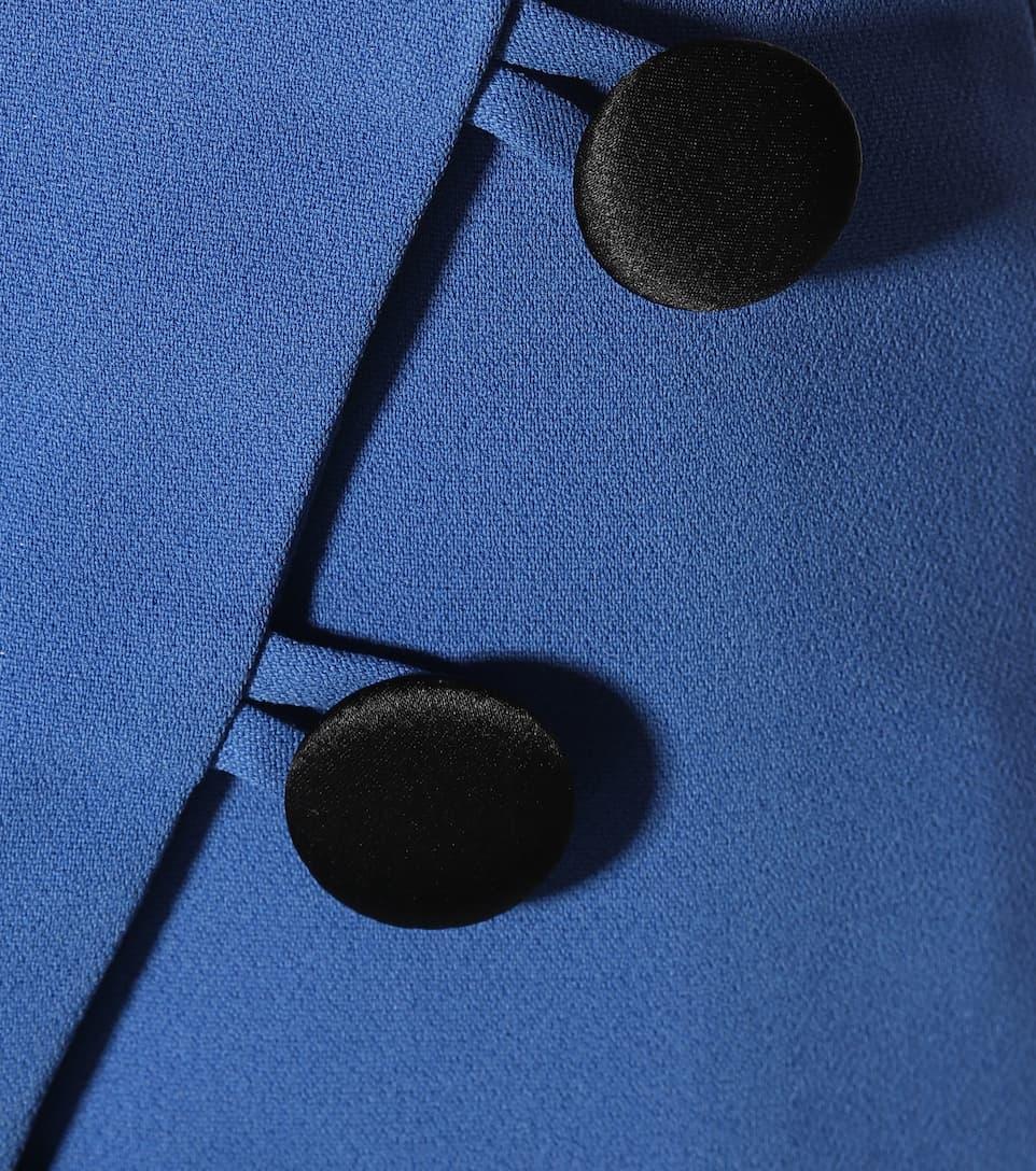 David Koma Trägerkleid aus Crêpe mit Verzierung