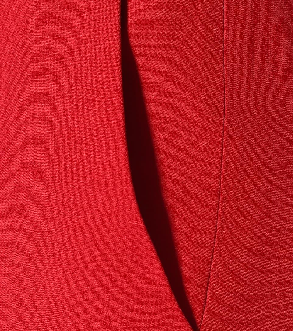 Pantalon haute À Laine Taille Soie En Valentino Mi Et dBxrCoe