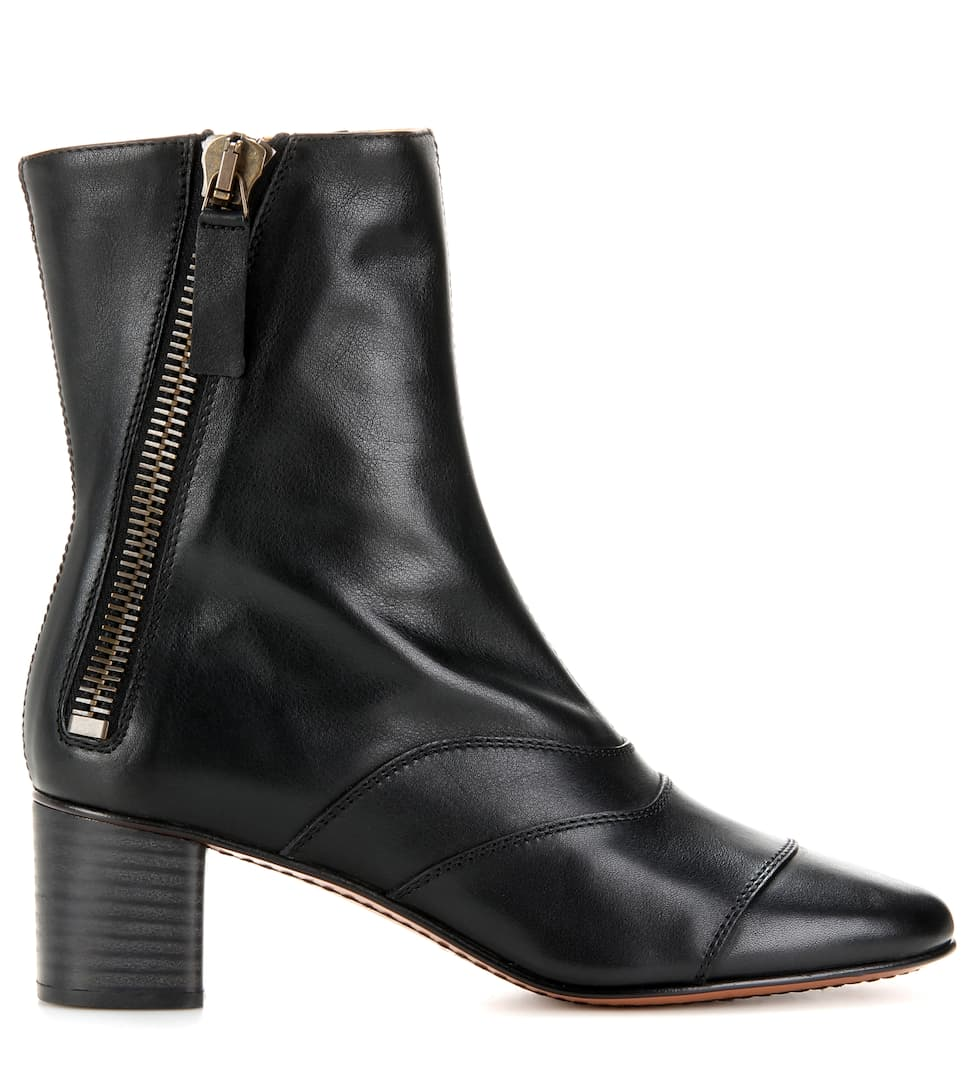 Chloé Ankle Boots Lexie aus Leder