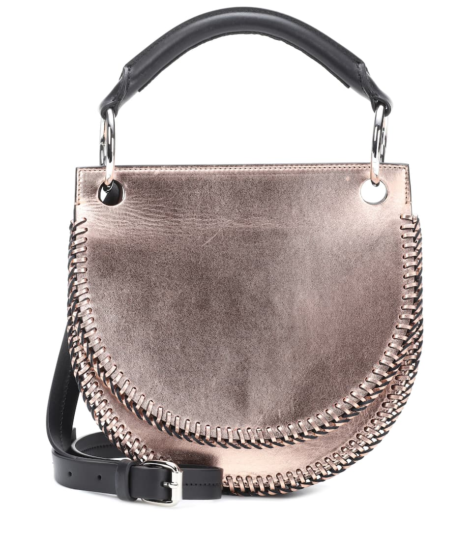 Sac Cross-Body En Cuir Pebble