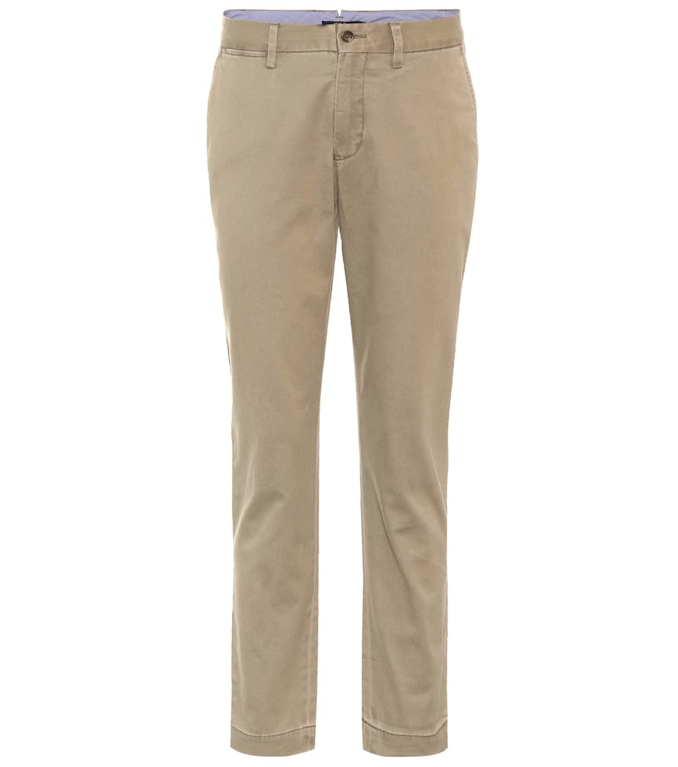 CHINO COTTON TROUSERS