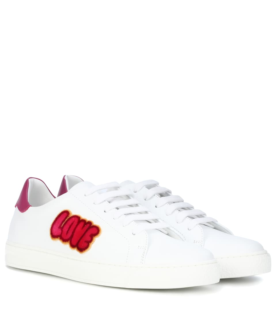 Anya Hindmarch Love Kisses sneakers