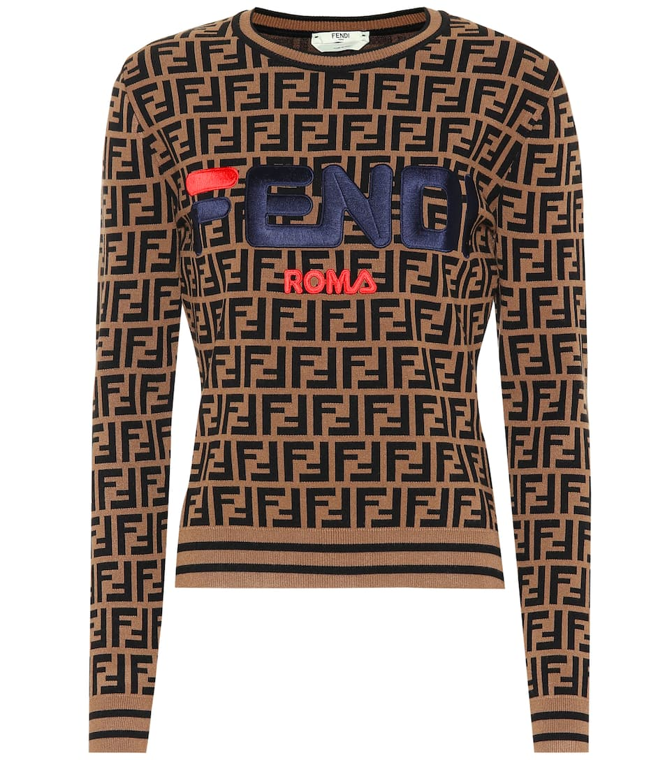 3a2df531b1 X Fila embroidered sweater
