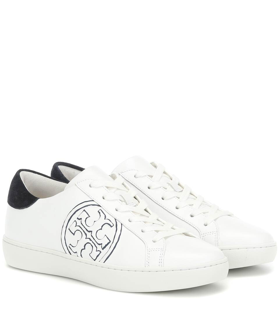 Leather Sneakers - Tory Burch | Mytheresa