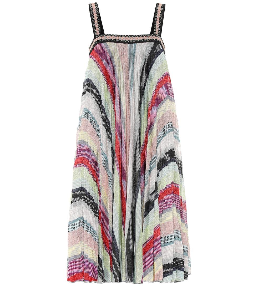 bee29c256 Striped metallic knit dress. NEW ARRIVAL; NEWSEASON. Missoni