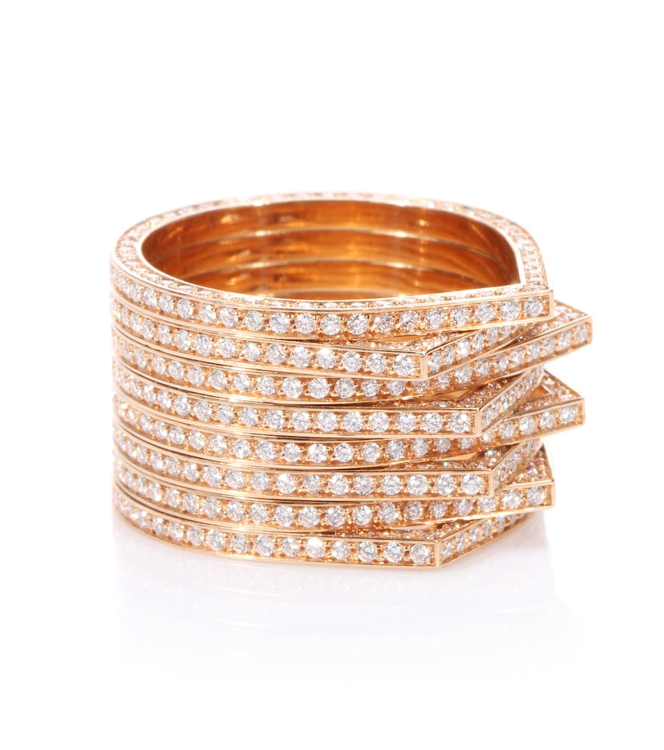 Repossi Antifer 18kt white and rose gold ring nJm6l2Uc