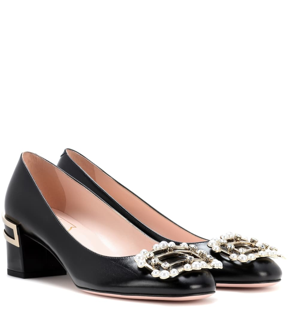 Isadora Boudoir leather pumps Roger Vivier 7XAbAs4