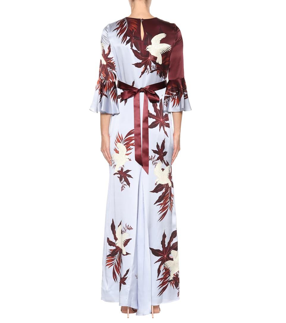 Addition Maxi Dress In Silk Linzea