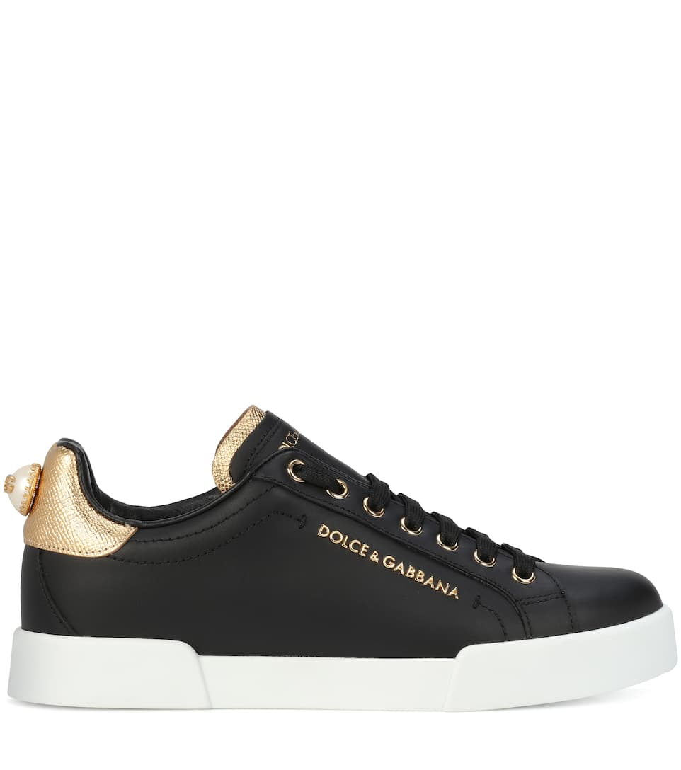 Dolce & Gabbana Sneakers From Smooth Leather