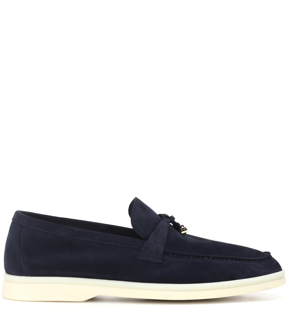 Summer Charms Walk Suede Loafers - Loro