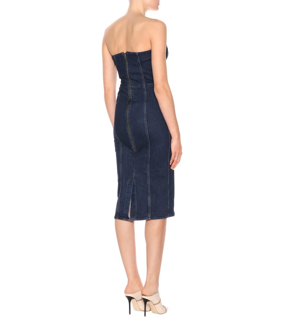 Veronica Beard Jeanskleid aus Baumwolle