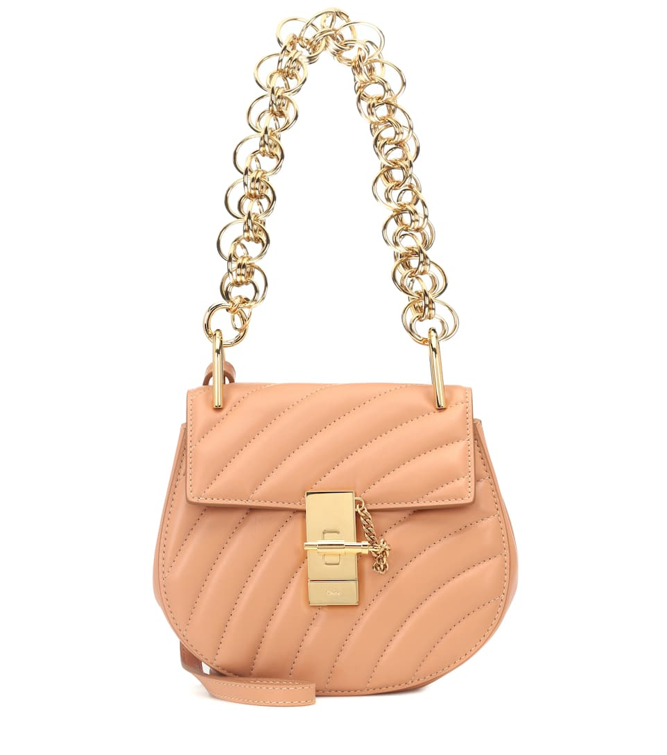 Sac cross-body en cuir matelassé Drew Bijou Mini zvtDi