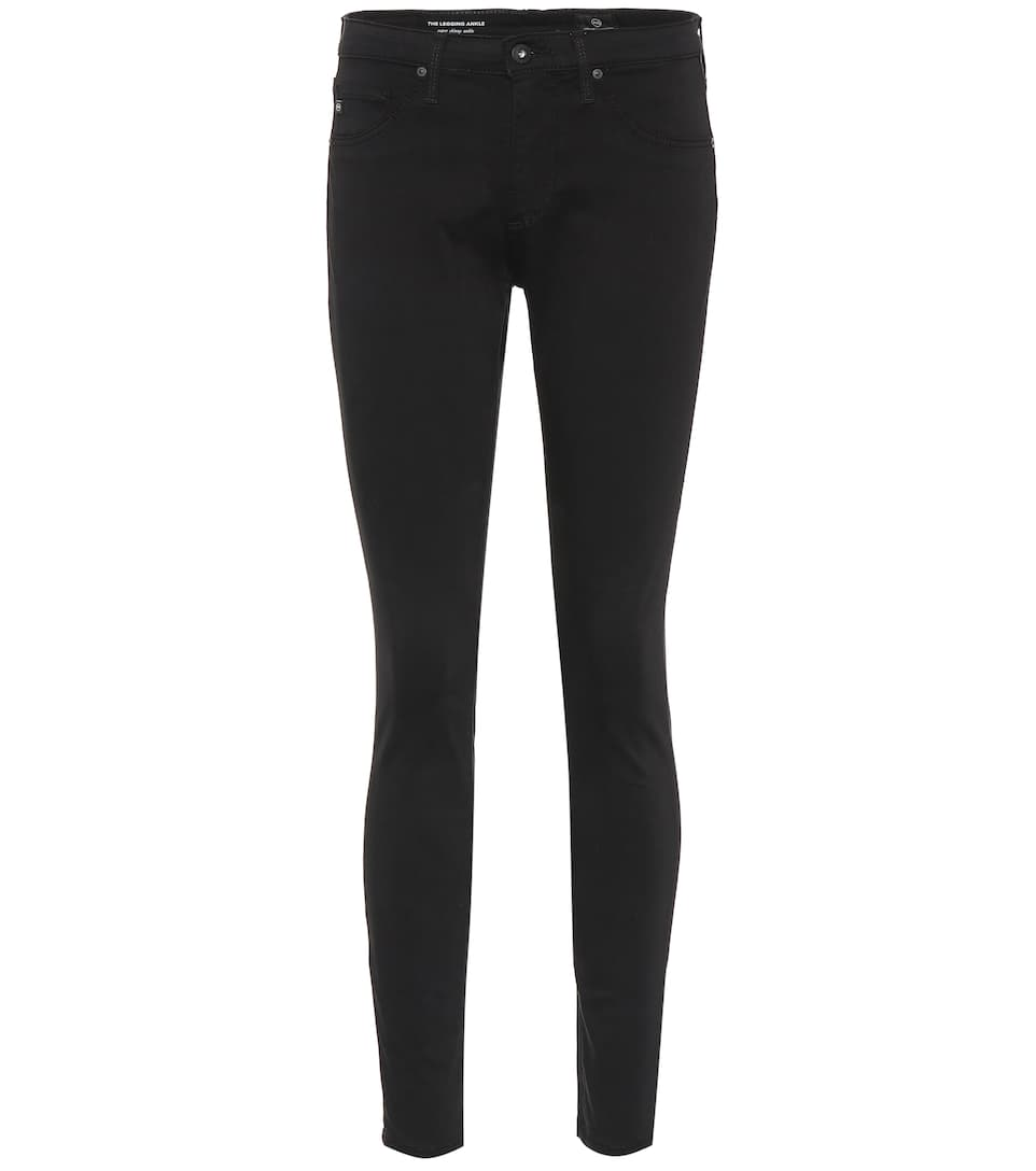 AG Leggings tobillo skinny The jeans Jeans negro r8P86