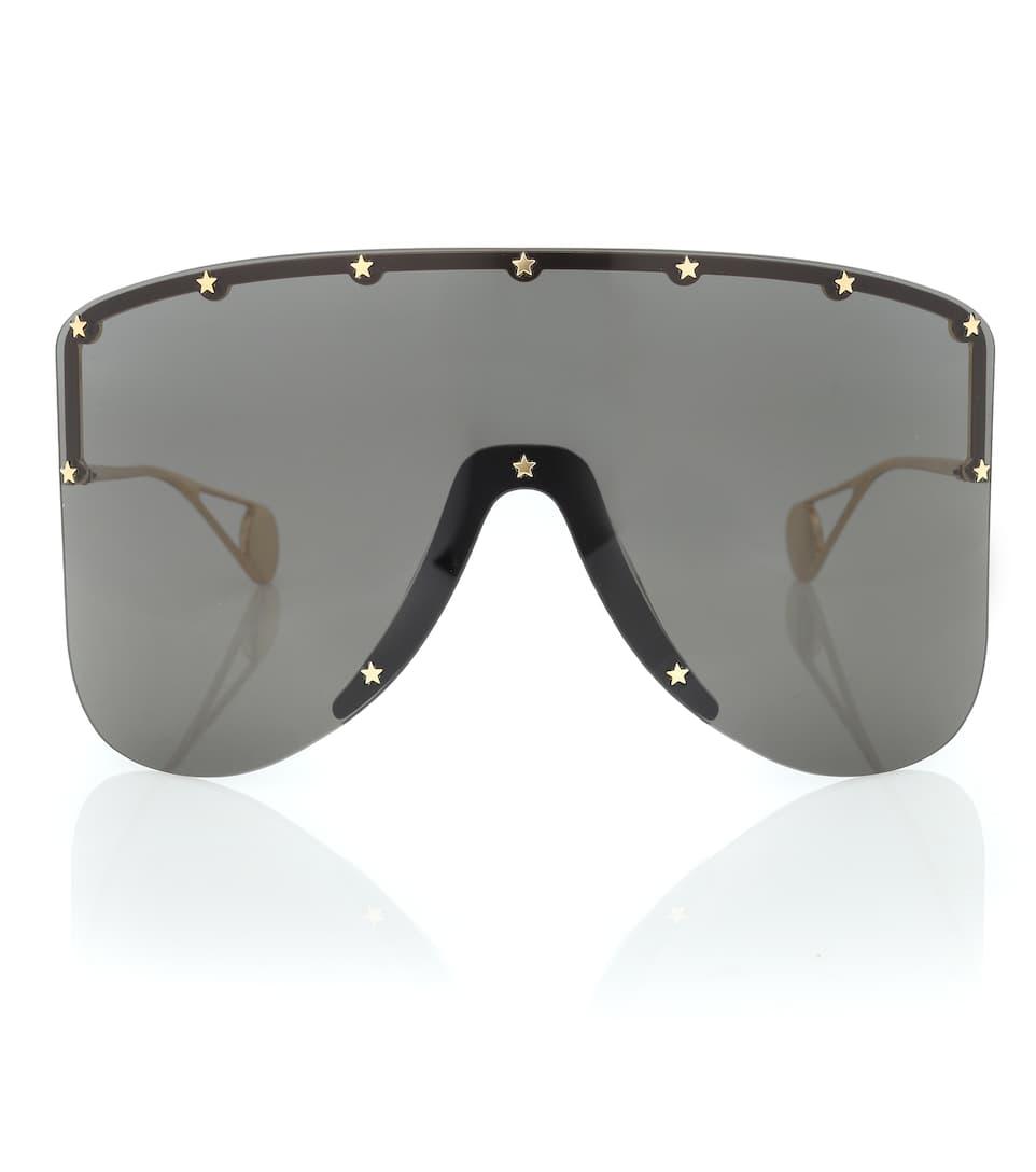 9bfc6a892bfb8 Gucci - Mask metal sunglasses