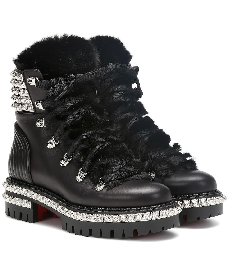 Ankle Boots Yeti Donna aus Leder
