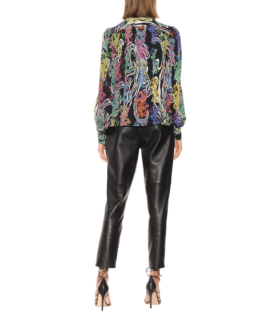 Printed Tie-Neck Blouse | Dundas - Mytheresa