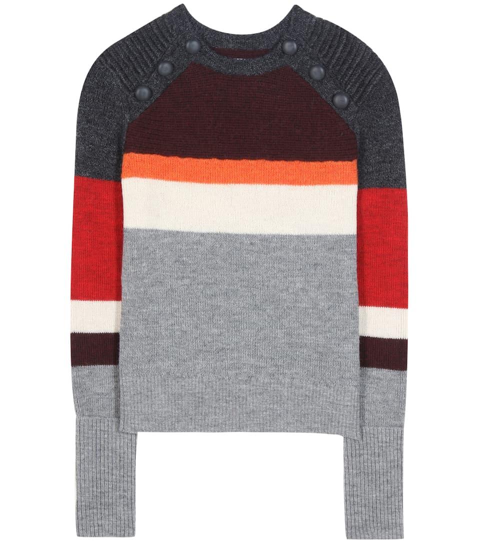 Isabel Marant, Étoile Doyle striped wool sweater