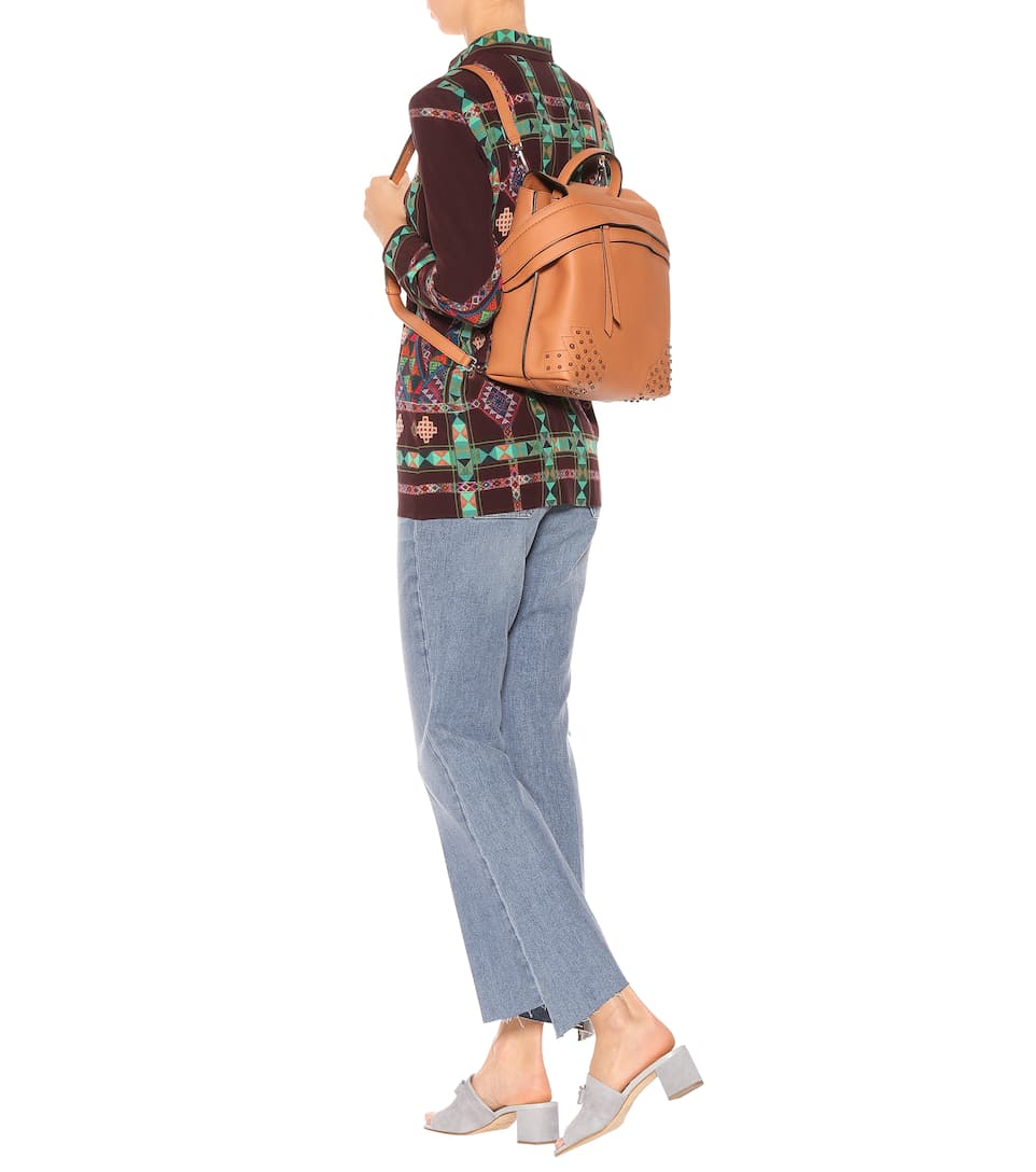 Billige Truhe Bilder Tod's Rucksack Wave aus Leder Shop-Angebot Verkauf Online Mode Günstig Online Niedrige Versandgebühr Günstiger Preis Bekommt Einen Rabatt Zu Kaufen BqZkVbDmxo