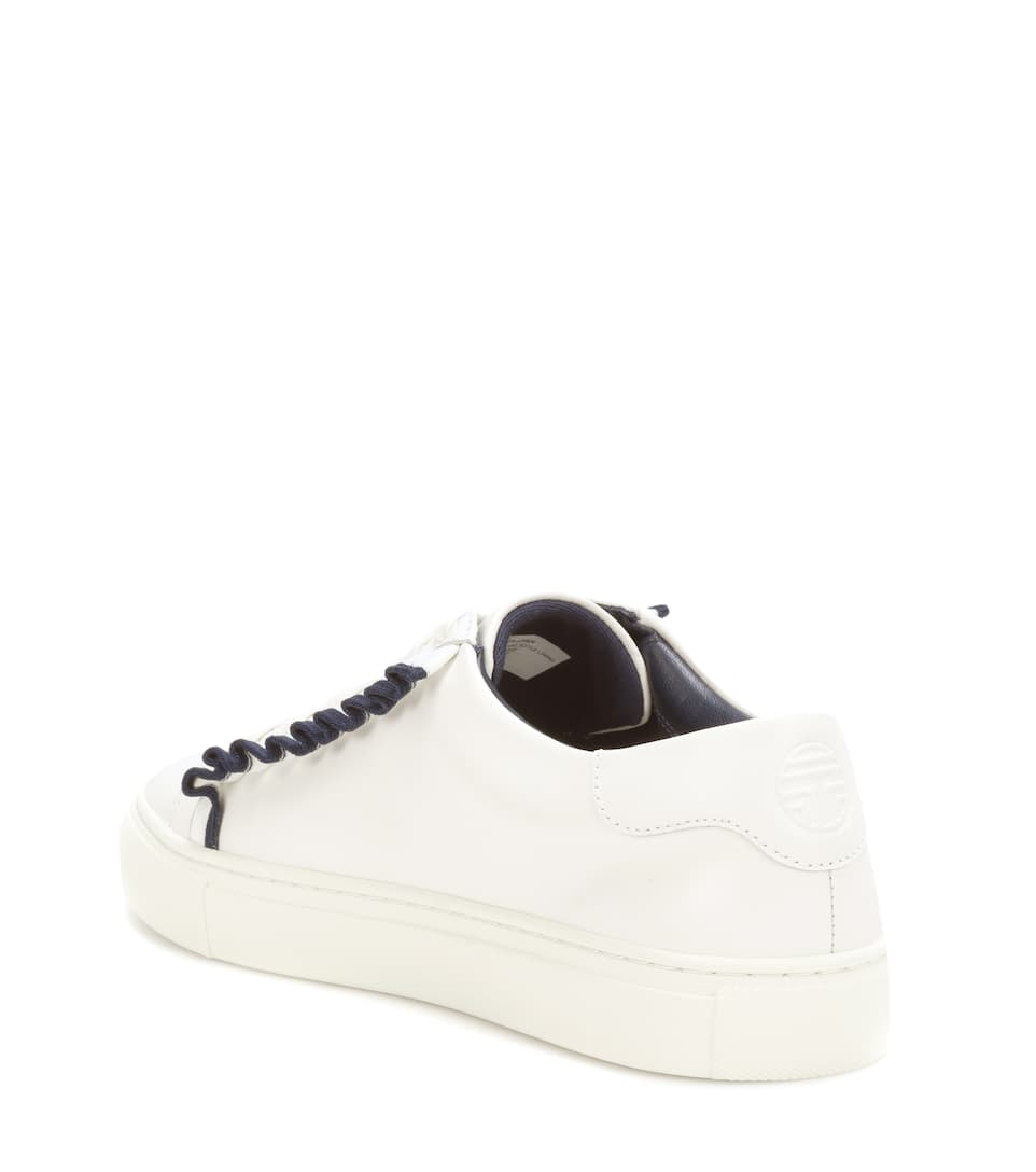 Tory Sport Sneakers Ruffle Of Leather