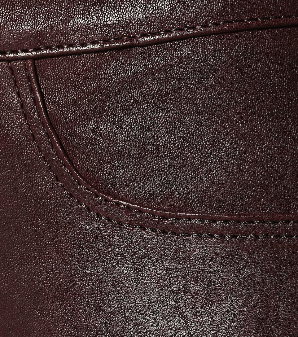 J Brand Skinny Lederhose