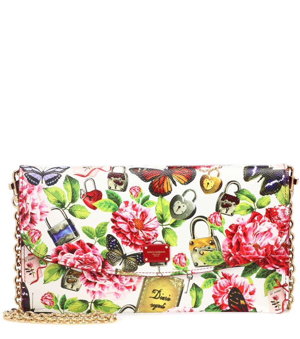 Dolce & Gabbana Schultertasche Butterfly Chain aus Leder Online Einkaufen Verkauf Verkauf Online Billig Finden Große Rabatt Günstiger Preis Heißen Verkauf Online FC0RsN
