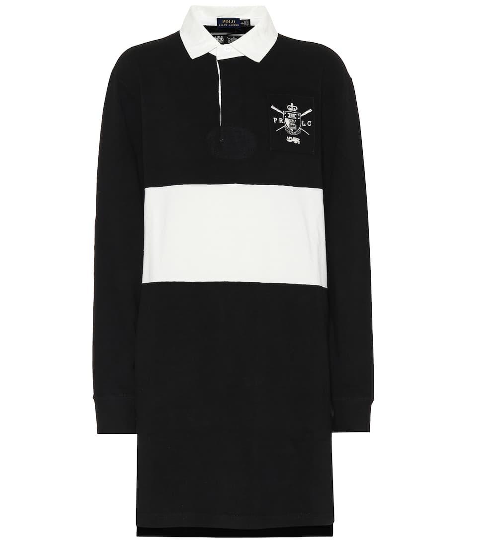 65915b30b8e73 Striped Cotton Rugby Dress - Polo Ralph Lauren