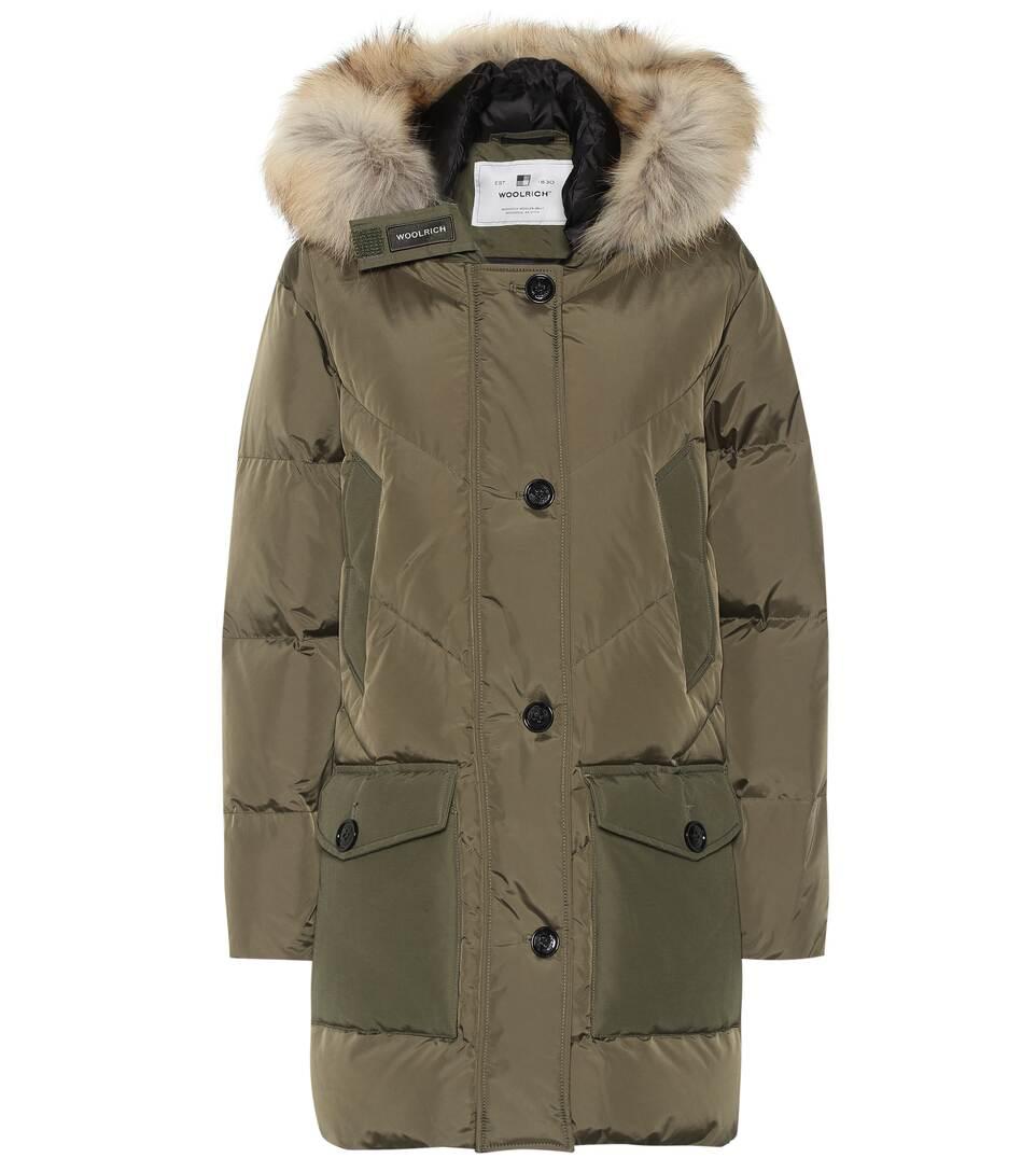 buy popular f8f5b d326f Logo Parka Down Coat - Woolrich   Mytheresa